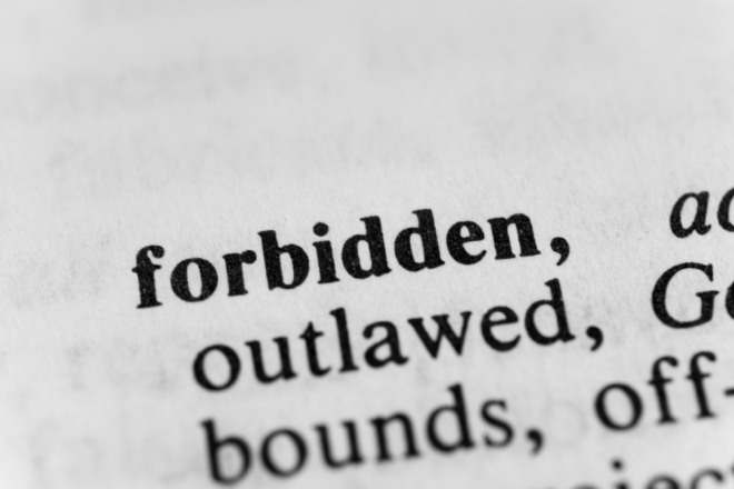 _Forbidden-Definition